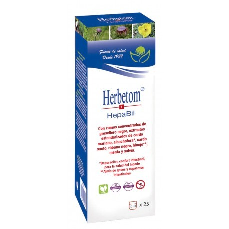 HERBETON HepaBil 250 ml. (BIOSERUM)