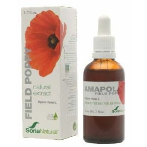 EXTRACTO DE AMAPOLA 50ML (SORIA NATURAL)